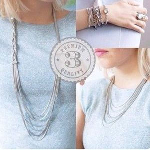 Braided Chain Convertible Necklace
